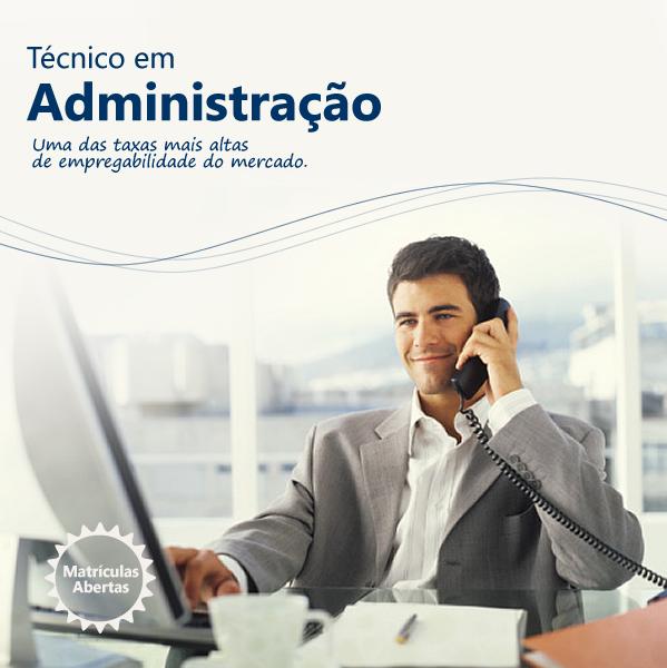 Curso tecnico administração